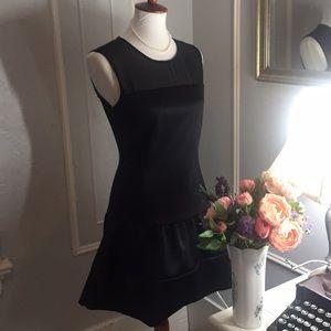Sandro black dress PERFECT LBD!!! S